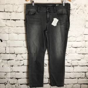 Level 99 Lily Crop Skinny Straight Jean Size 32